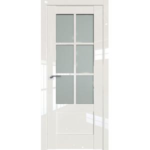 Дверь Профиль дорс 103L Магнолия люкс - со стеклом