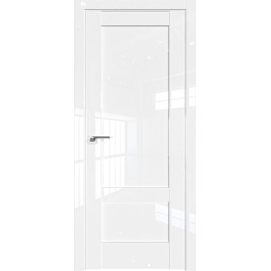 Дверь Профиль дорс 105L Белый люкс - глухая