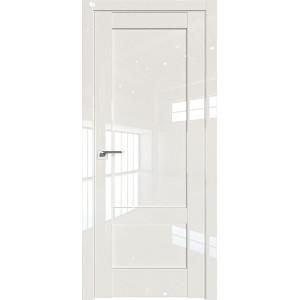 Дверь Профиль дорс 105L Магнолия люкс - глухая