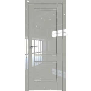 Дверь Профиль дорс 1L Галька люкс - глухая