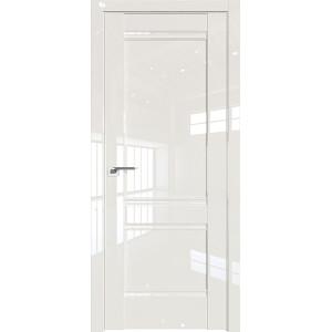 Дверь Профиль дорс 1L Магнолия люкс - глухая