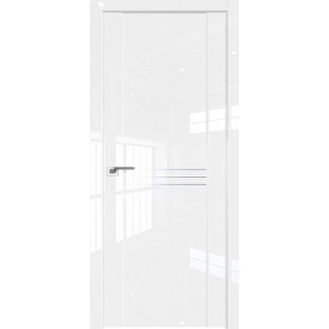 Дверь Профиль дорс 150L Белый люкс - глухая