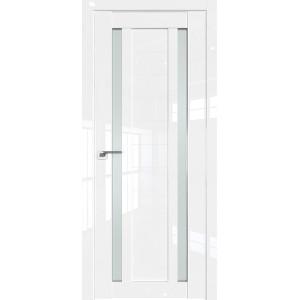 Дверь Профиль дорс 15L Белый люкс - со стеклом