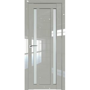 Дверь Профиль дорс 15L Галька люкс - со стеклом
