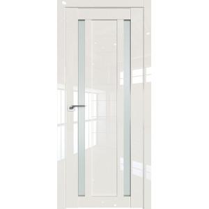 Дверь Профиль дорс 15L Магнолия люкс - со стеклом