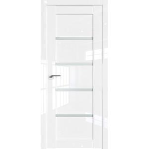 Дверь Профиль дорс 2.09L Белый люкс - со стеклом