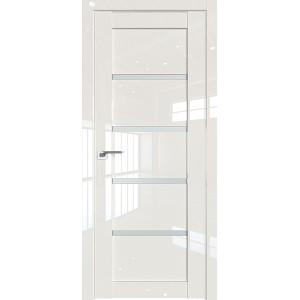 Дверь Профиль дорс 2.09L Магнолия люкс - со стеклом