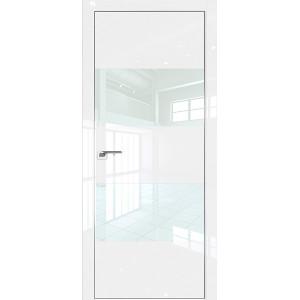 Дверь Профиль дорс 10LK Белый люкс - со стеклом