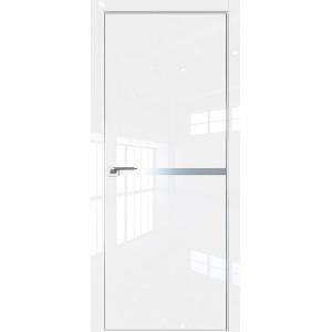 Дверь Профиль дорс 11LK Белый люкс - глухая