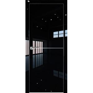Дверь Профиль дорс 12LK Черный люкс - глухая