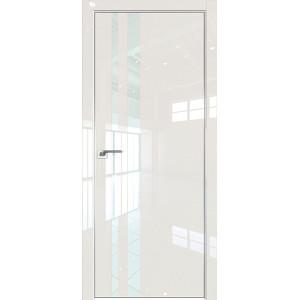 Дверь Профиль дорс 16LK Магнолия люкс - со стеклом