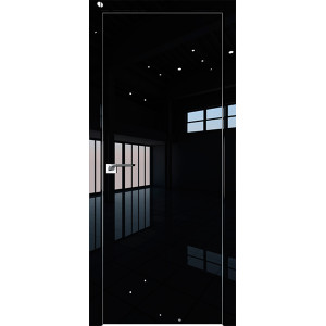 Дверь Профиль дорс 1LK Черный люкс - глухая