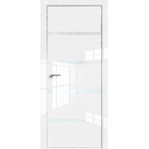 Дверь Профиль дорс 20LK Белый люкс - со стеклом