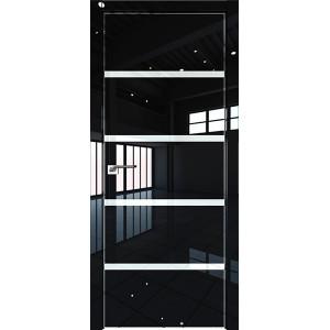 Дверь Профиль дорс 20LK Черный люкс - со стеклом
