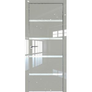 Дверь Профиль дорс 20LK Галька люкс - со стеклом