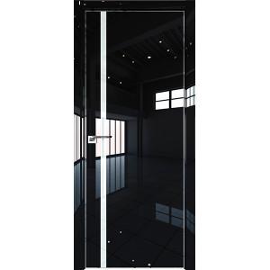 Дверь Профиль дорс 22LK Черный люкс - со стеклом