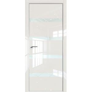 Дверь Профиль дорс 26LK Магнолия люкс - со стеклом