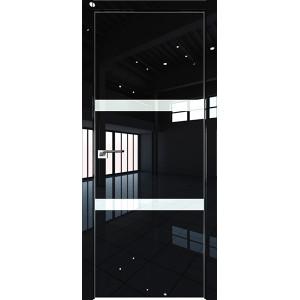 Дверь Профиль дорс 30LK Черный люкс - со стеклом