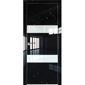 Дверь Профиль дорс 34LK Черный люкс - со стеклом