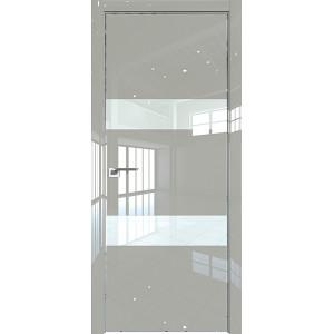 Дверь Профиль дорс 34LK Галька люкс - со стеклом
