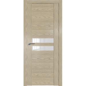 Дверь Профиль дорс 2.03N Дуб скай крем - со стеклом