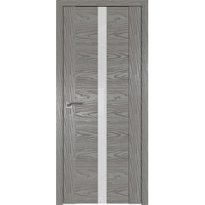 Дверь Профиль дорс 2.04N Дуб скай деним - со стеклом