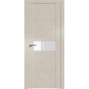 Дверь Профиль дорс 2.05N Дуб скай белёный - со стеклом