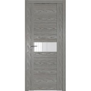 Дверь Профиль дорс 2.05N Дуб скай деним - со стеклом