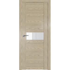 Дверь Профиль дорс 2.05N Дуб скай крем - со стеклом