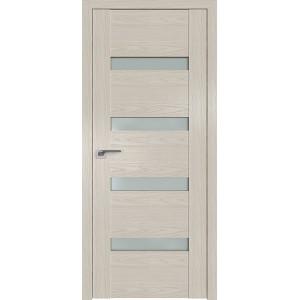 Дверь Профиль дорс 2.81N Дуб скай белёный - со стеклом