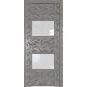 Дверь Профиль дорс 21N Дуб скай деним- со стеклом
