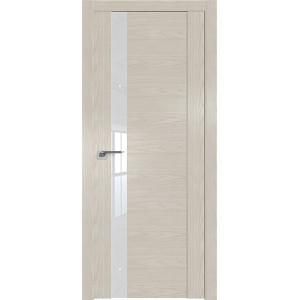 Дверь Профиль дорс 62N Дуб скай белёный - со стеклом