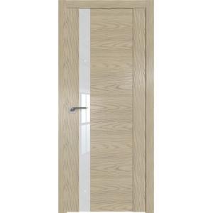 Дверь Профиль дорс 62N Дуб скай крем - со стеклом