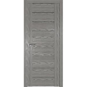 Дверь Профиль дорс 98N Дуб скай деним - со стеклом