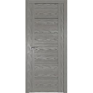 Дверь Профиль дорс 99N Дуб скай деним - со стеклом