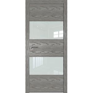 Дверь Профиль дорс 10NK Дуб скай деним - со стеклом