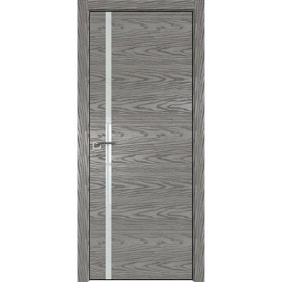 Дверь Профиль дорс 22NK Дуб скай деним - со стеклом