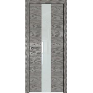 Дверь Профиль дорс 25NK Дуб скай деним - со стеклом