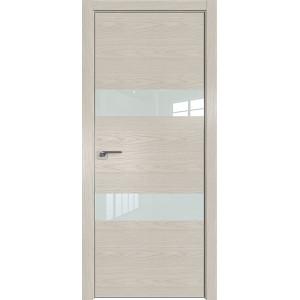 Дверь Профиль дорс 34NK Дуб скай беленый - со стеклом