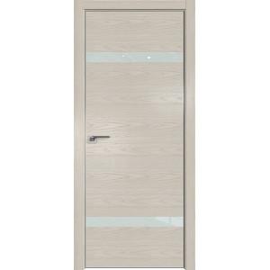 Дверь Профиль дорс 3NK Дуб скай беленый - со стеклом