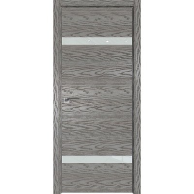 Дверь Профиль дорс 3NK Дуб скай деним - со стеклом