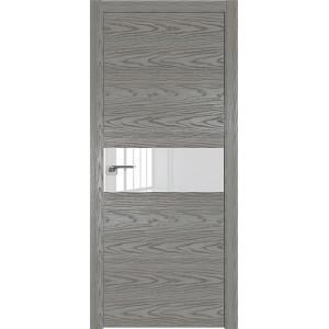 Дверь Профиль дорс 4NK Дуб скай деним - со стеклом