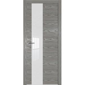 Дверь Профиль дорс 5NK Дуб скай деним - со стеклом