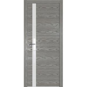 Дверь Профиль дорс 6NK Дуб скай деним - со стеклом
