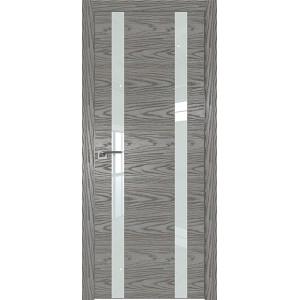 Дверь Профиль дорс 9NK Дуб скай деним - со стеклом