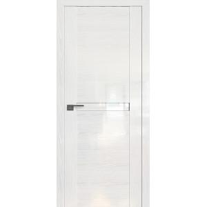 Дверь Профиль дорс 2.01STP Pine White glossy - со стеклом