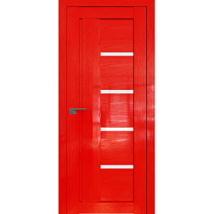 Дверь Профиль дорс 2.08STP Pine Red glossy - со стеклом