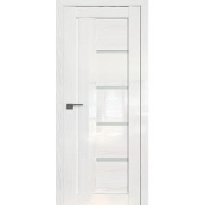 Дверь Профиль дорс 2.08STP Pine White glossy - со стеклом