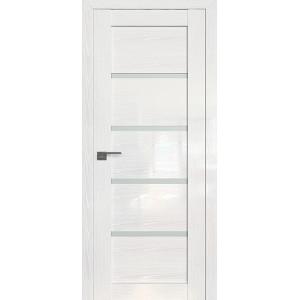 Дверь Профиль дорс 2.09STP Pine White glossy - со стеклом