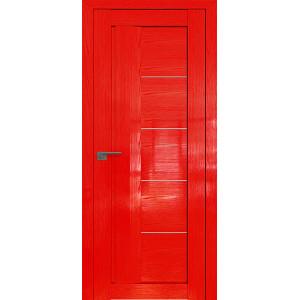 Дверь Профиль дорс 2.10STP Pine Red glossy - со стеклом